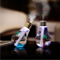 Hidly Aroma Diffuser USB battery power 400ml Light Humidifier Air Ultrasonic with Bulb Design