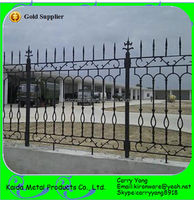 Decorative Wrought Iron/Metal Farm Fencing Designs