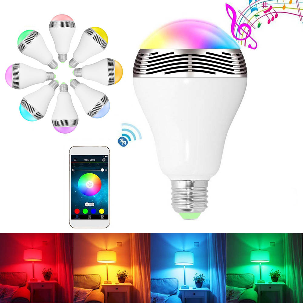 WiFi Wireless Smart LED Bayonet B22 Bulb/IOS Android Wifi Control LED Light