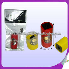 One Blade Plastic Cosmetic Pencil Sharpener