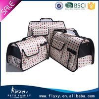 Fashionable new arrival stylish pet cage durable dog soft crate