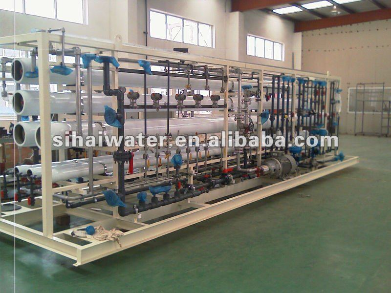 Sea water desalination system,Reverse Osmosis water treatment machine