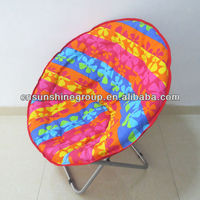 2013 Newest Folding Moon Chair adult camping round chair