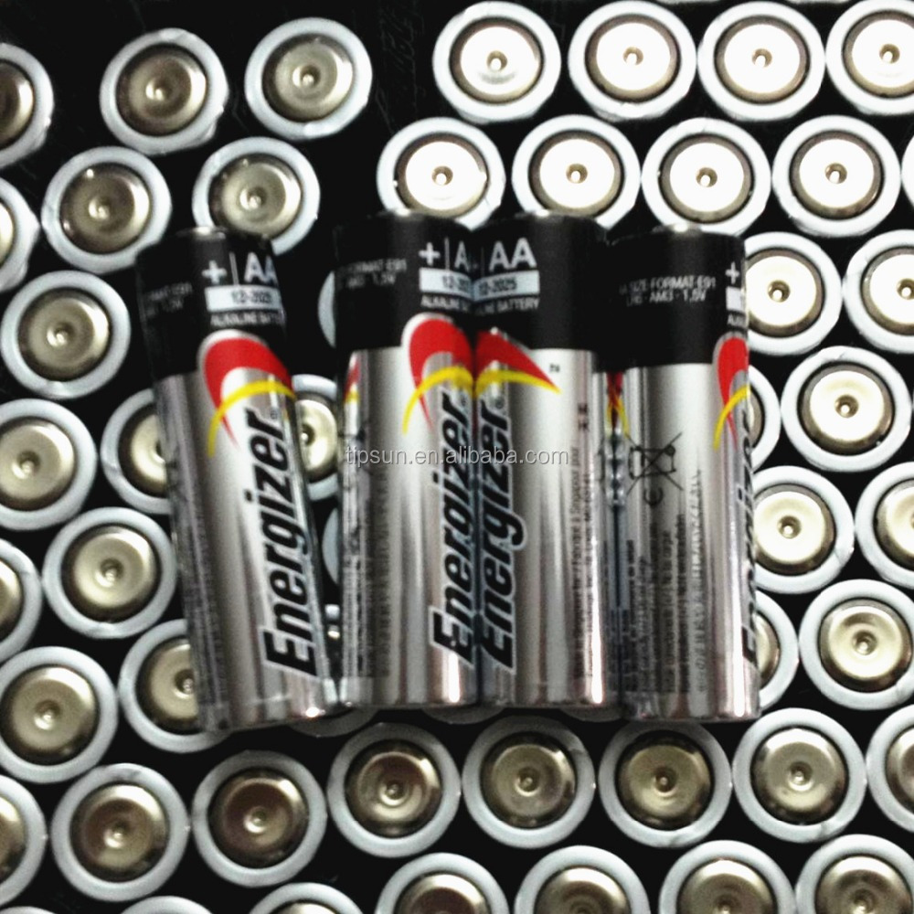 Hot Sale Bulk Pack 1.5V Energizer E91 LR6 AA Alkaline Battery for Remote Control