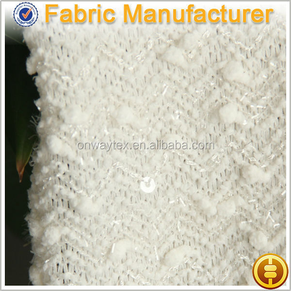 Shaoxing Onway Make-to-order knited polyester minky fabrics/ stretch super soft velboa