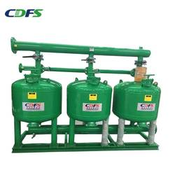 CDFS manual sand filter for drip irrigation system