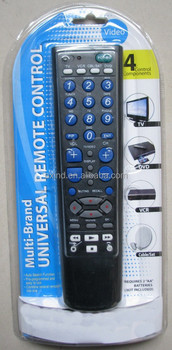 4 IN 1 UNIVERSAL REMOTE CONTROL FOR LED, FOR SOUTH AMERICA MARKET, ANHUI FACTORY