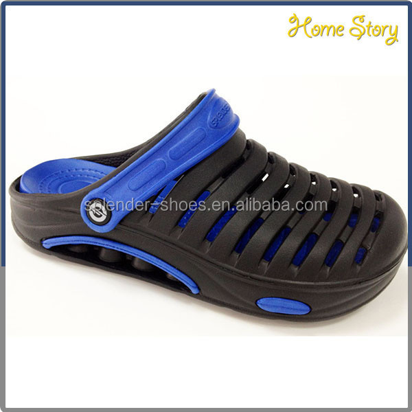Men sporty leisure comfort holey soles garden eva clogs shoes