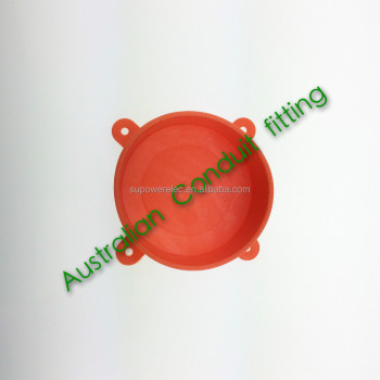 Australian PVC Pipe fitting Disposable Lid