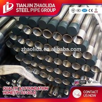 galvanized iron sheet with price thread end steel pipe dip pipe specification