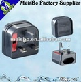 With 3A or 13A fuse EU to UK 5A 250V Adapter plug for electrical appliances