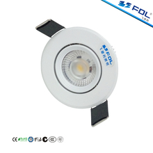 New Product 5W 10W 15W 30W DALI 0-10V Triac Dimmable Adjustable Recessed COB LED Downlight for Shopping Mall