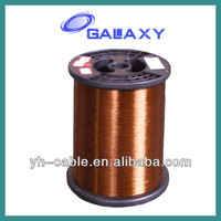 155/180 polyester aluminum enameled/enamelled wire/enamel coated copper wire