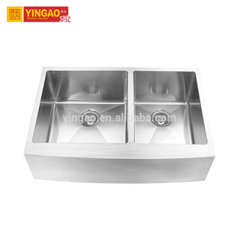 Modern Simple design portable 304 stainless steel custom size kitchen sink