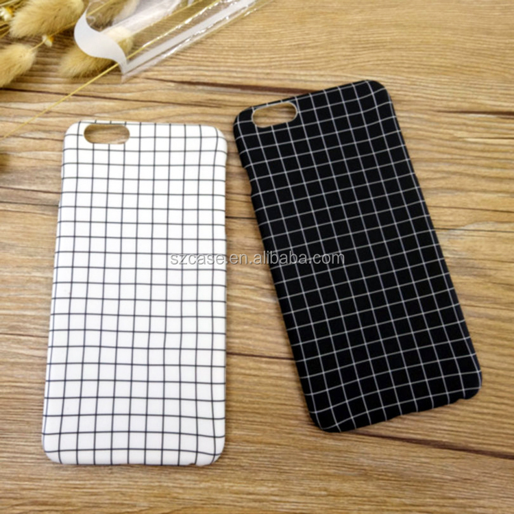 Factory direct wholesale imd grid phone case for iphone 5 5s se