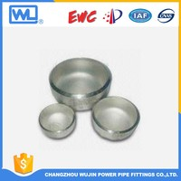 316L stainless steel end caps pipe fitting