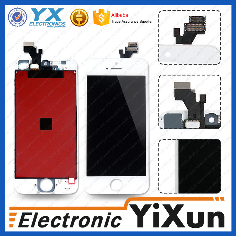 Original wholesale for iphone 5 mobile phone lcd complete with low price discount