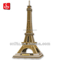 Eiffel Tower World Architecture 3D Puzzle World Architecture office decoration