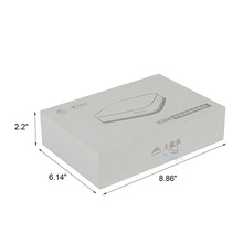 set up white matt lamination chipboard boxes with lids