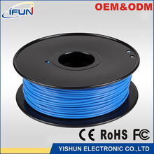 Factory diretly good quality 3D printer 1.75mm pla filament non-toxic materials use for FDM extrude printing machine