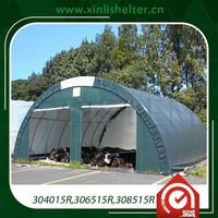 Steel Structure Space Frame Dome Shed Portable Garage