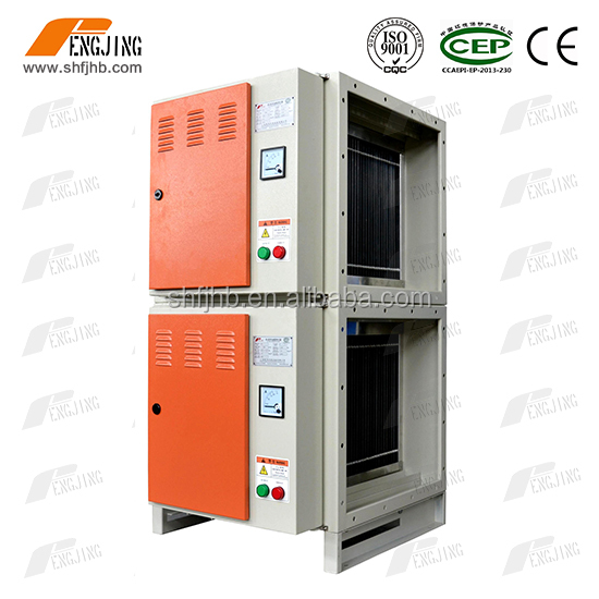 Air handling unit for Disposable PVC production line with honeycomb filter