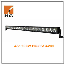 43 inch 200W LED Light Barfor Off Road, truck,suv,atv,jeep etc