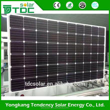 High quality gy panel black mono 60 cell 260w solar photovoltaic module