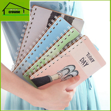 Wholesale Promotion Notepad Custom Spiral Notebook White Pages
