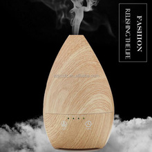2017 USA trending mini electric smart ultrasonic aroma diffuser wooden for living room