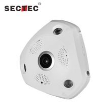 Sectec 5MP Fish-eye Panoramic VR Camera 360 Degree
