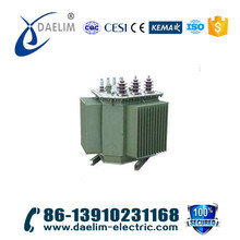 Small electrical 3 phase full-sealed NLTC oil transformer