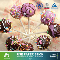 Home baking paper stick long stick cakepop lollipop paper sticks