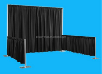 Factory directly high quality cheap photo booth backdrop pipe and drape stands