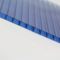 Eco-friendly hard plastic panel UV coat,polycarbonate corrugated sheet