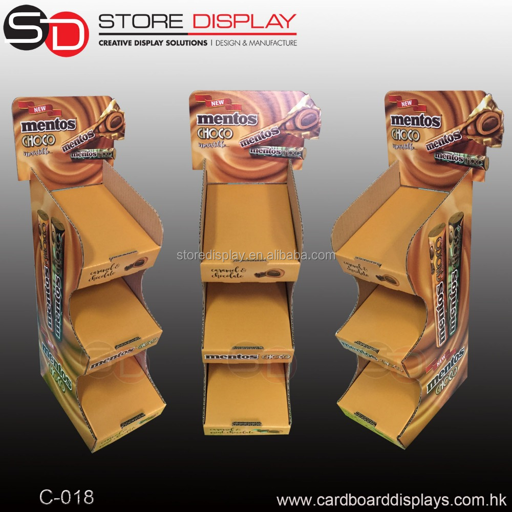 Hot sale Paper Display <strong>Stand</strong> and Racks for Food from China Supplier