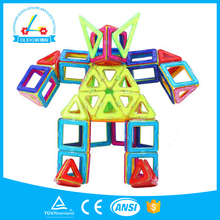 DIY Kids educational plastic building block wisdom neofomers toy magnet magformers magnetic tiles bricks toy