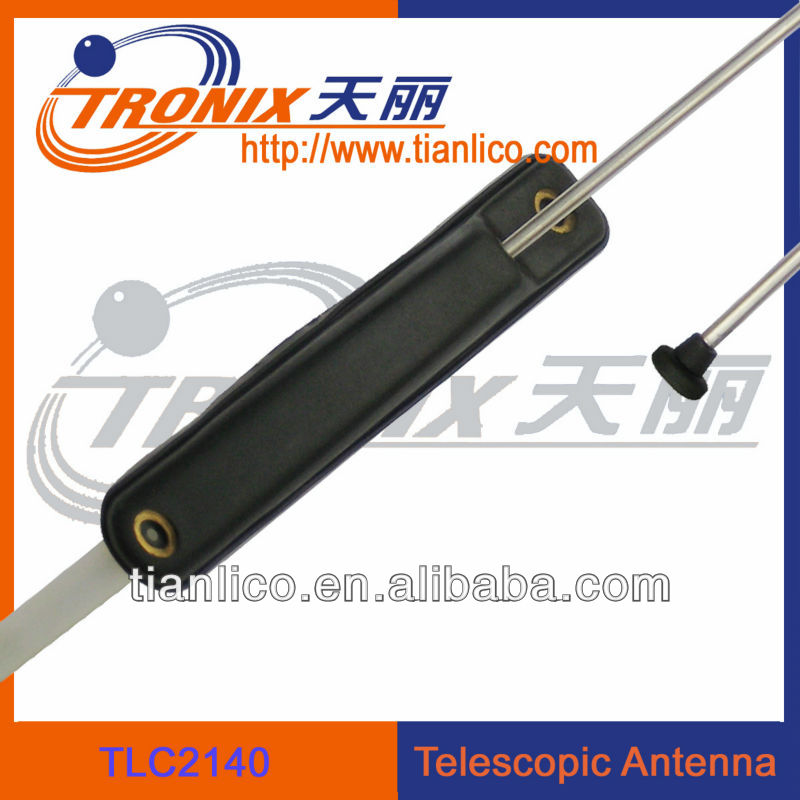 exterior Chinese well-know auto parts TLC2140 single mast pillar mount car telescopic antenna(ODM/OEM professional manufactory)
