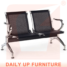 Cheap Price Hospital Arm Chair 2.3.4.5-Seater Metal Steel Gang Chair Lounge Number Waiting Area System