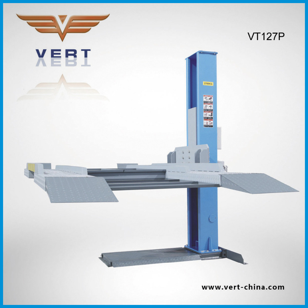 VT127P VERT China hydraulic auto lift for car lift outdoor with 1 post