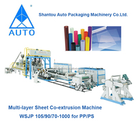 HOT SALING PLASTIC PP, PS SHEET EXTRUDER MACHINERY