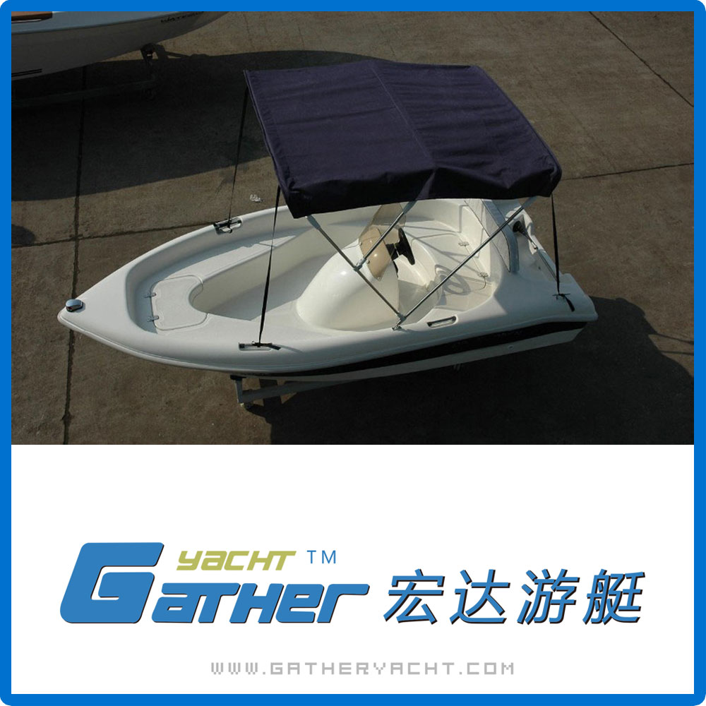 Gather Yacht Factory Directly Provide China Alibaba Supplier 12ft fiberglass SPORT BOAT