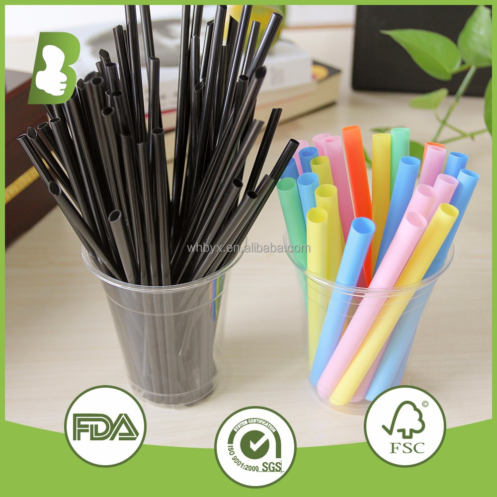 cheap price wholesale disposable Plastic PP Long Drinking straws