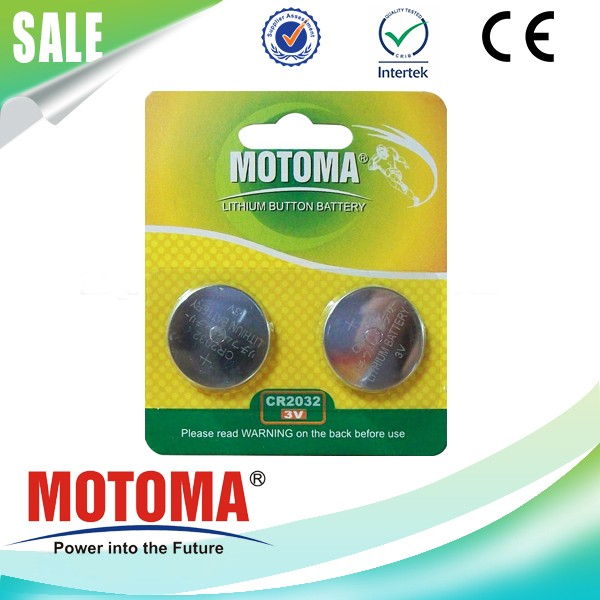 motoma brand CR2032 Button-Cell Battery applied in medical equipment