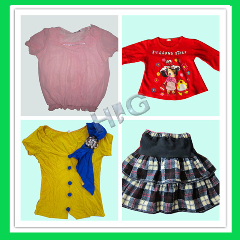 best price children summer wear second hand clothes