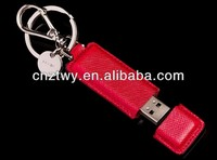 New arrvial leather usb flash disk,hot selling leather cheap price usb memory