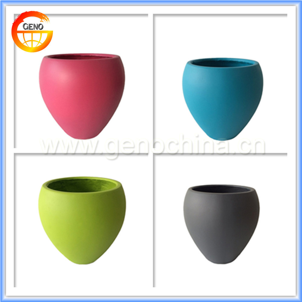 colorful flower pot garden planter