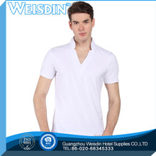 80 grams hot sale 100% organic cotton basic crew neck long sleeve plain t shirts