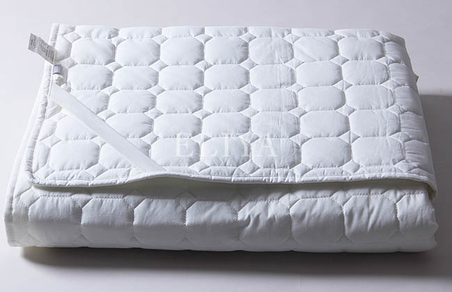 Eliya Cotton Amp Polyester Mixed Quilted Thin Soft Mattress