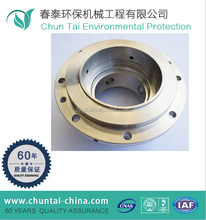 machining quality round pipe end cap for steel tube